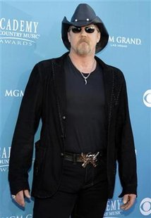 Singer Adkins arrives at the 45th annual Academy of Country Music Awards in Las Vegas