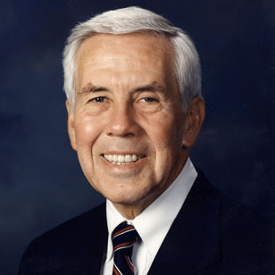 Indiana Senator Richard Lugar