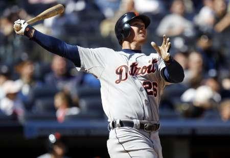 Detroit Tigers outfielder Brennan Boesch REUTERS/Jessica Rinaldi