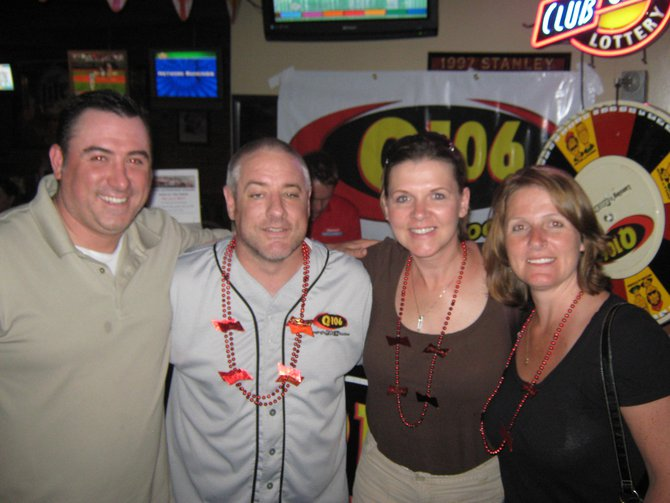 "Q106 had a blast with you and Budweiser at Frank's West getting you signed up for the ""Bash At The Track"", thank you for stopping by and as always, Rock On!"