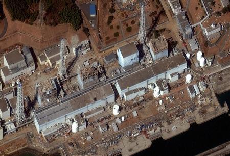 Fukushima Daiichi Power Plant in Fukushima