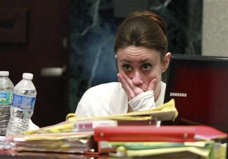 casey anthony crime scene photos of skull. Casey Anthony reacts during