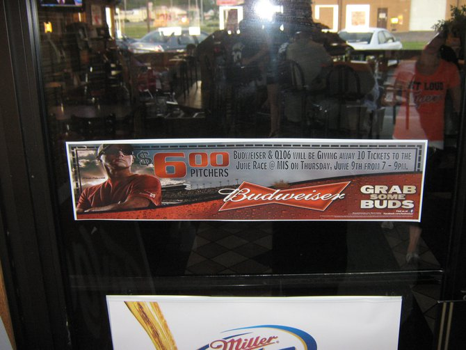 "Q106 and Budweiser had a blast getting you signed up for the ""Bash At The Track"" at Champions!"