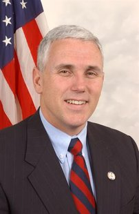 Mike Pence (R) Indiana Gubernatorial Candidate