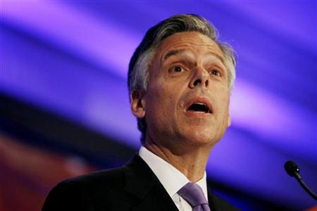 Former Utah Governor Jon Huntsman speaks at the Faith & Freedom Conference and Strategy Briefing in Washington