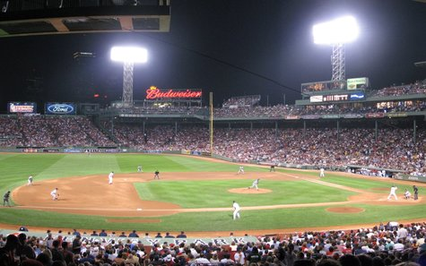 Fenway Park in Boston, MA
