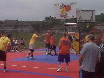 Gus Macker basketball in Wausau, WI