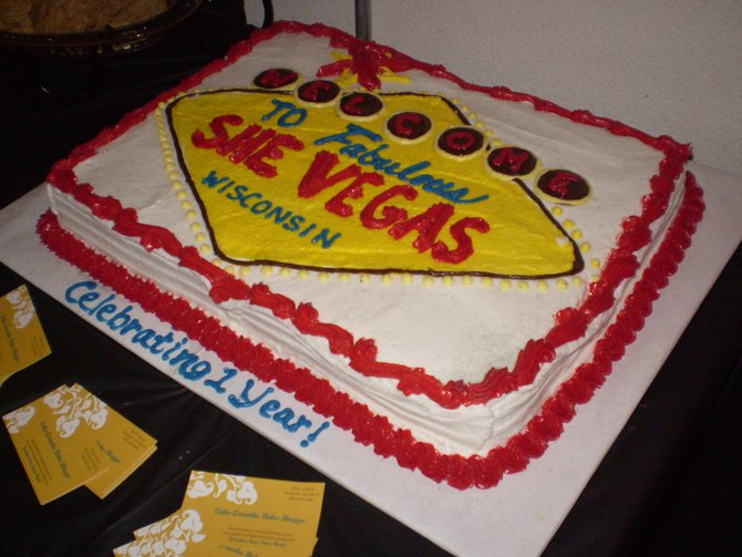 B93 and SheVegas celebrated their 1 Year Anniversary!