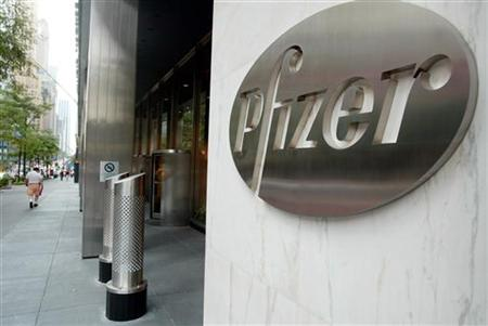 PFIZER WORLD HEADQUARTERS IN NEW YORK.