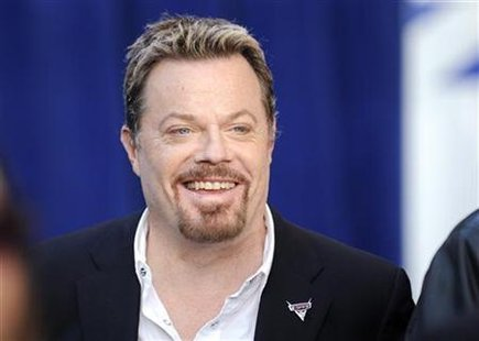 "British actor Eddie Izzard, who voices the character of Sir Miles Axlerod in the film "" Cars 2"", arrives at the premiere of the movie in Hol"
