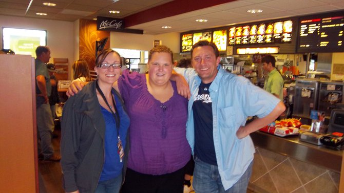 Lunch with Lee and Nikki Medford McDonalds