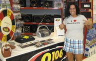 Q106 at ABC Warehouse In Jackson (6/24/11) 13