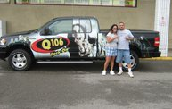 Q106 at ABC Warehouse In Jackson (6/24/11) 9
