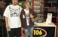Q106 at ABC Warehouse In Jackson (6/24/11) 4