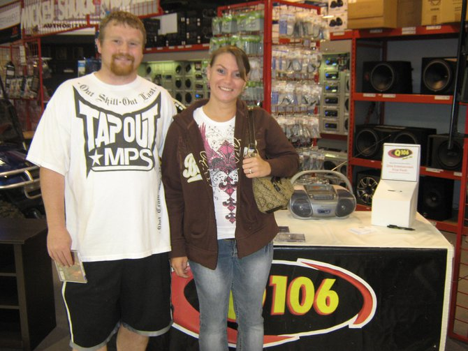 We helped you rock during your lunch hour at ABC Warehouse in Jackson.  It was a blast, we'll have to do it again soon!