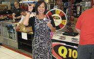 Q106 at ABC Warehouse In Jackson (6/24/11) 1
