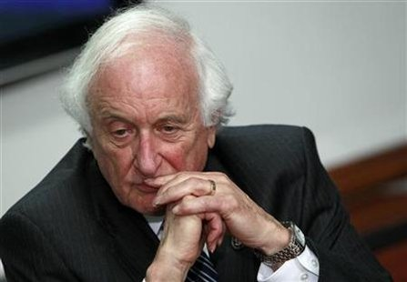 U.S. House Ways and Means Committee Chairman Rep. Sander Levin (D-MI) speaks during the Reuters Financial Regulation Summit in Washington