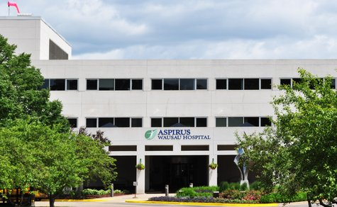 The Aspirus Wausau Hospital building. Image taken 6/24/11
