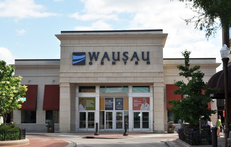 Wausau Center Mall in Downtown Wausau. Image taken 6/24/2011.