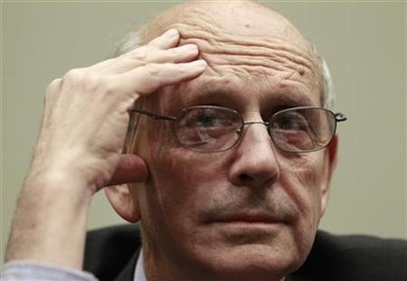 Justice Breyer testifies on Capitol Hill in Washington
