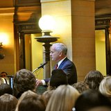 Governor Dayton talks about the real impacts of budget cuts on communities and Minnesota families.