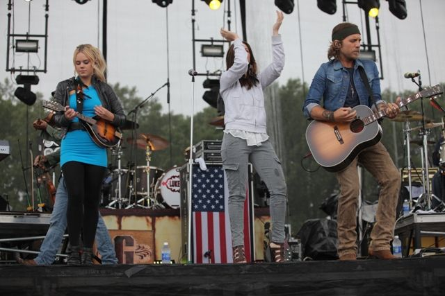 Gloriana, Justin Moore, Luke Bryan and Dierks Bentley