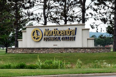 Northcentral Technical College Wausau Campus sign. Image taken on 7/1/201..