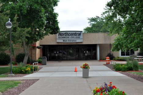 Northcentral Technical College Wausau Campus. Image taken on 7/1/2011.