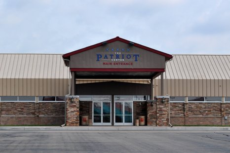 The Patriot Center in the Cedar Creek Mall in Rothschild. Image taken 7/1/2011.