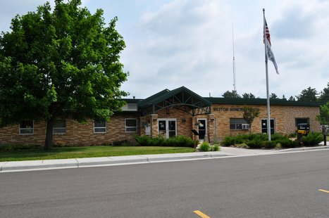 Village of Weston Municipal Center building. Image taken 7/1/2011.