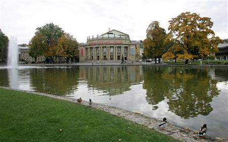 State opera is pictured in Stuttgart