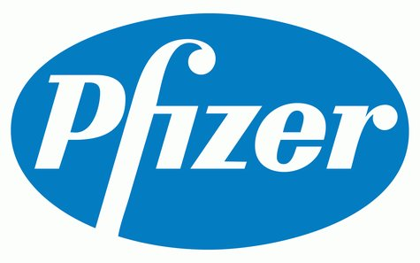 The drug manufacturer Pfizer's logo is shown in a stock image.