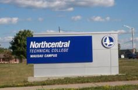 The sign outside the main campus of Northcentral Technical college