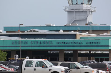 Austin Straubel International Airport in Green Bay, Wisconsin