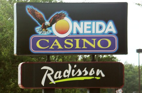 Oneida Casino/Radisson Hotel in Green Bay, Wisconsin
