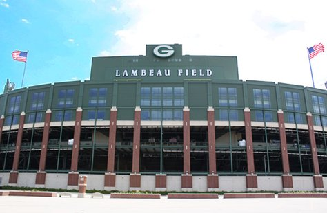Lambeau Field in Green Bay, WI