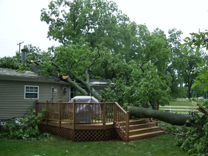 Coldwater Storm Damage