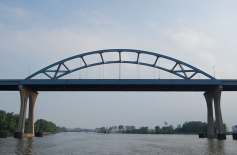 Leo Frigo Memorial (Tower Drive) Bridge in Green Bay, WI