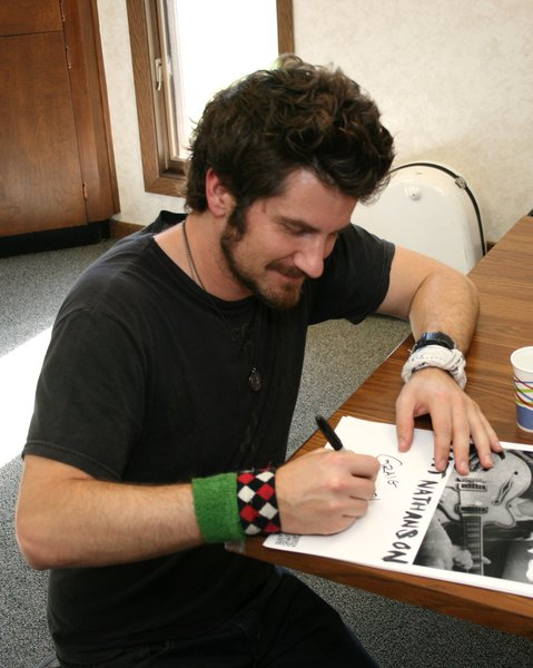 "Matt Nathanson stopped by Sheboygan's Point to sing ""Come On Get Higher"" and ""Faster"" for an exclusive Point acoustic show."