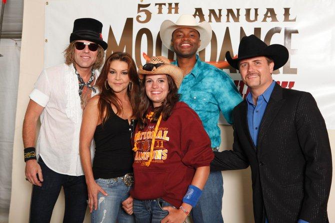 Radio USA Meet & Greet at Moondance Jamin' Country Fest 2011