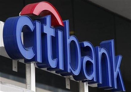 A Citibank branch is seen in Washington