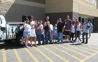 Q106 at Wal Mart, Jackson (7/15/11) 1