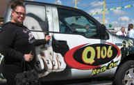 Q106 at RPM Auto Sales (7/13/11) 2