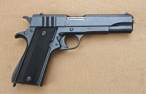 .22-caliber, semi-automatic pistol