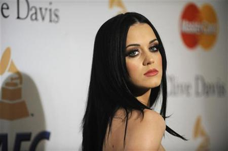 Katy Perry attends the Pre-Grammy Gala & Salute to Industry Icons with Clive Davis in Beverly Hills