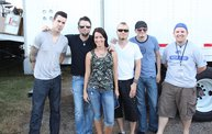 Backstage at Fond Du Lac Fair with Theory of a Deadman 21