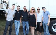 Backstage at Fond Du Lac Fair with Theory of a Deadman 18