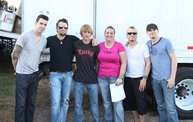 Backstage at Fond Du Lac Fair with Theory of a Deadman 17