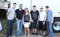 Backstage at Fond Du Lac Fair with Theory of a Deadman 16