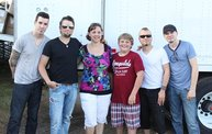Backstage at Fond Du Lac Fair with Theory of a Deadman 14
